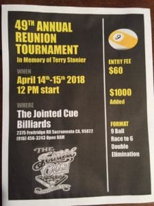 49th Annual Reunion Tournament
