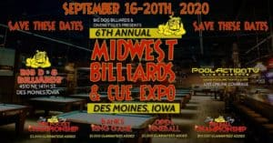 6th Annual Midwest Billiards & Cue Expo