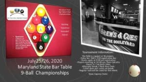 Maryland State Bar Table 9-Ball Championships