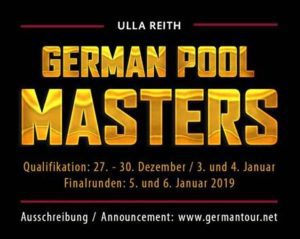 German Pool Masters 2018