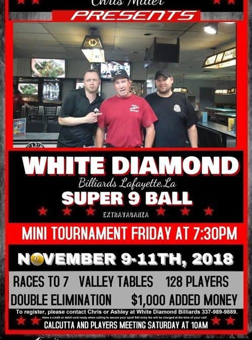 White Diamond Super 9-Ball
