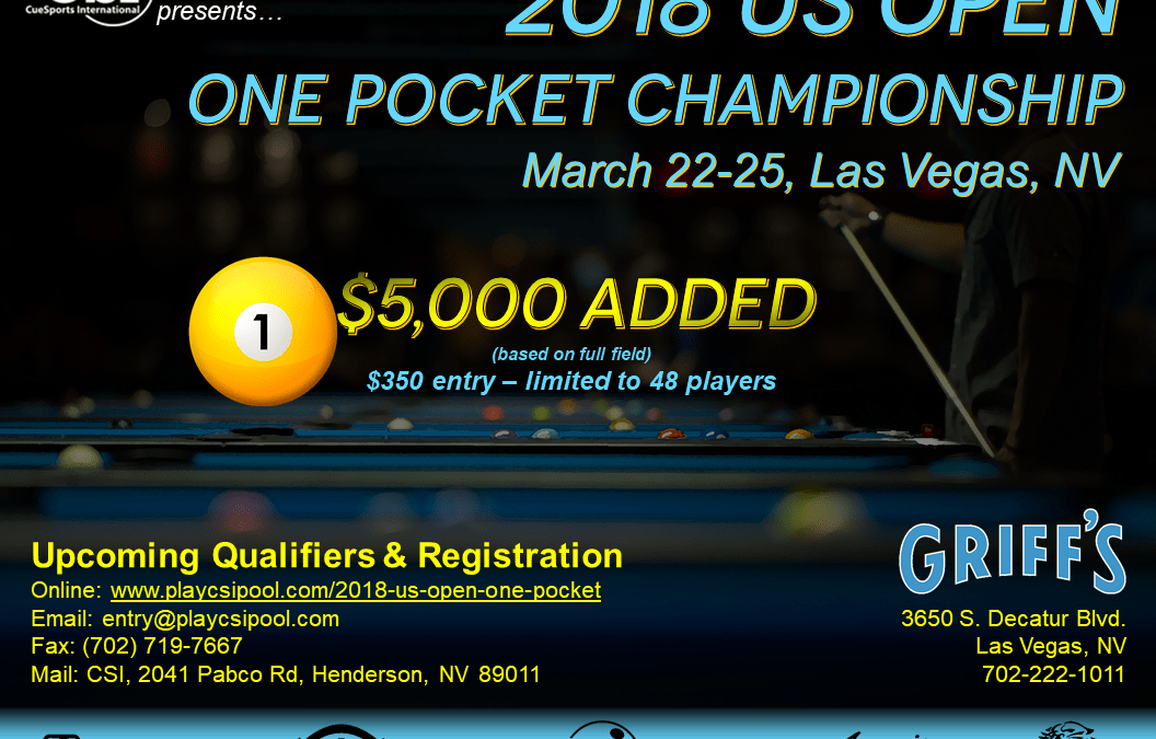 US Open One Pocket Championship 2018