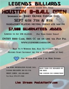 Houston Open 9-Ball