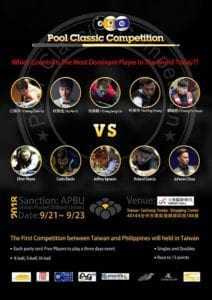 Philippines vs. Taiwan: Pool Classic Competition 2018