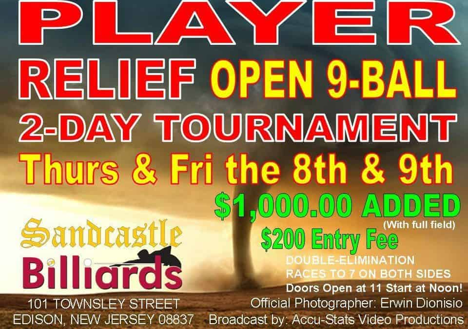 Player Relief Open 9-Ball