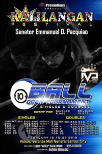 Kalilangan Festival Open 10-Ball Tournament