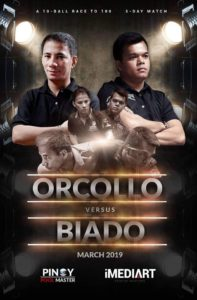 Orcollo vs. Biado - Race to 100