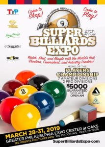 Super Billiards Expo 2019