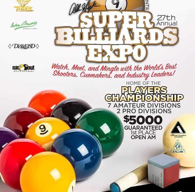 Super Billiards Expo 2019