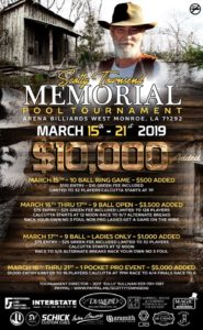 Scotty Townsend Memorial Pool Tournament