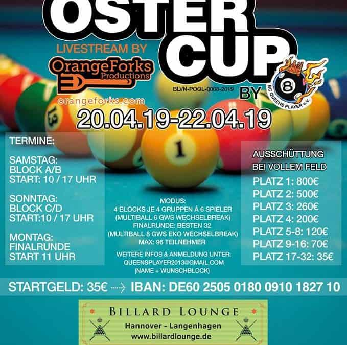 1. Oster-Cup BC Queens