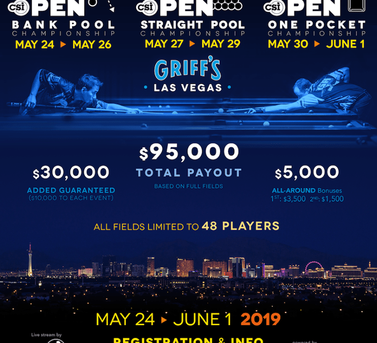 US Open Straight Pool Championship 2019