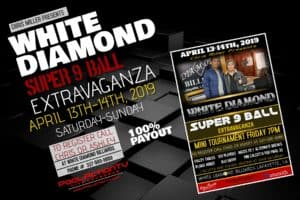 White Diamond Super 9-Ball Extravaganza