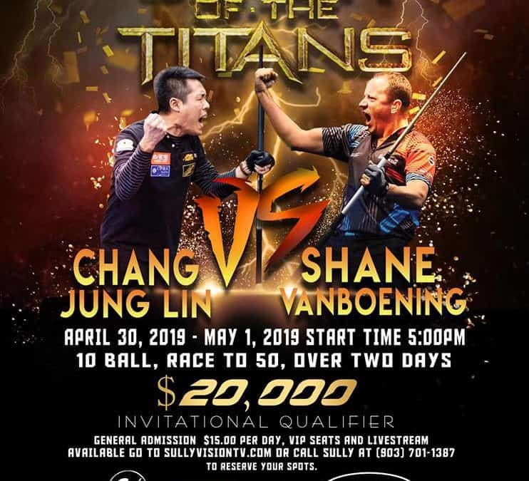 Clash of the titans: Chang Jung Lin vs. Shane van Boening
