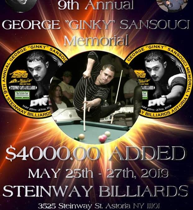 """George """"Ginky"""" SanSouci  Memorial"""
