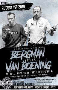 Bergman vs. van Boening, 10-Ball, Race to 25, Best of 5