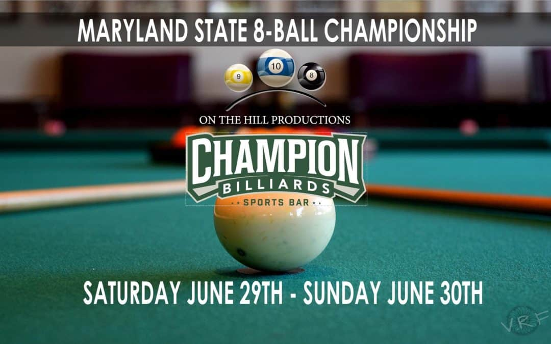 Maryland State 8-Ball Championship