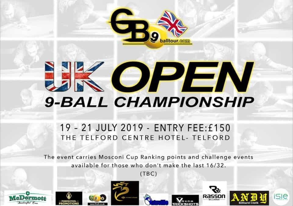 GB9 UK Open 9-Ball Championship