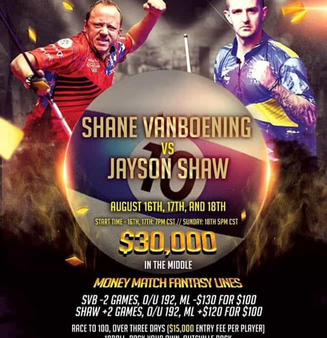 Shane van Boening vs. Jayson Shaw, Race to 100