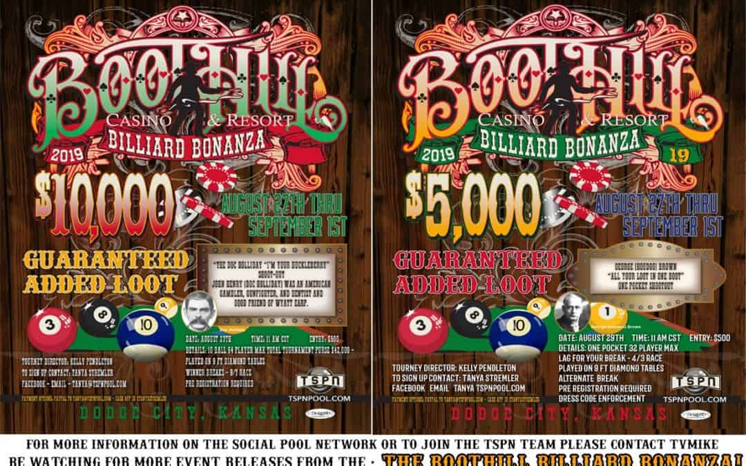 Boot Hill Billiard Bonanza 2019