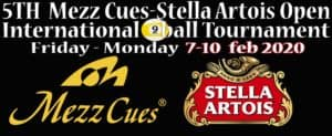 The 5th Mezz Cues - Stella Artois Open