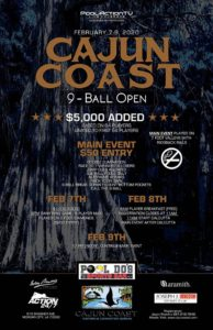 Cajun Coast 9-Ball Open 2020