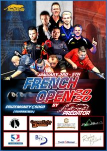 French Open by Predator 2020