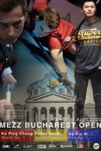 Mezz Bucharest Open 2020