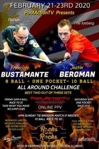 Bustamante vs. Bergman All-around-Challenge