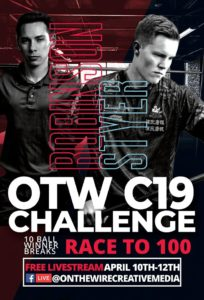 OTW C19 Challenge: Robinson vs. Styer, 10-Ball, Race to 100