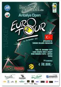 Eurotour Dynamic Antalya Open 2019