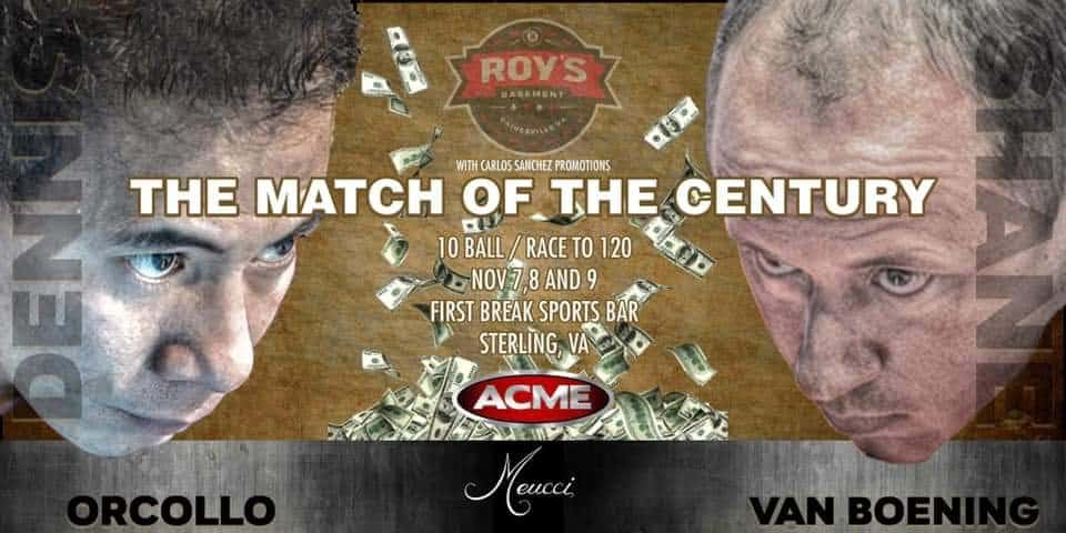 The match of the century – Orcollo vs. SVB, Race to 120