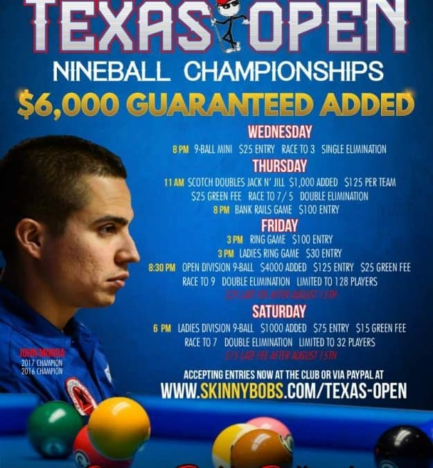 45th Texas Open 9-Ball Championships