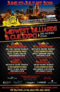 Big Dog Midwest Billiards & Cue Expo