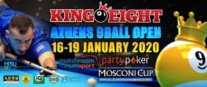 King Eight Athens 9-Ball Open
