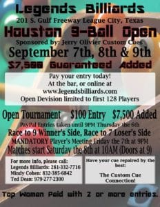 Houston 9-Ball Open