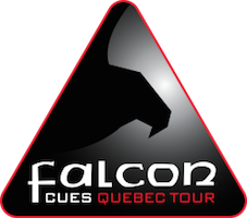 Falcon Cues Quebec Tour 2017/18
