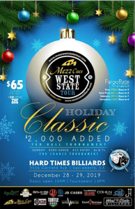 Mezz West State Tour Holiday Classic