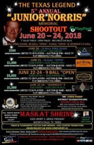 Junior Norris Memorial Shootout