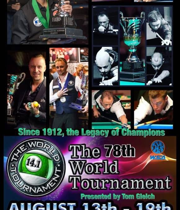 78th World Tournament of 14.1