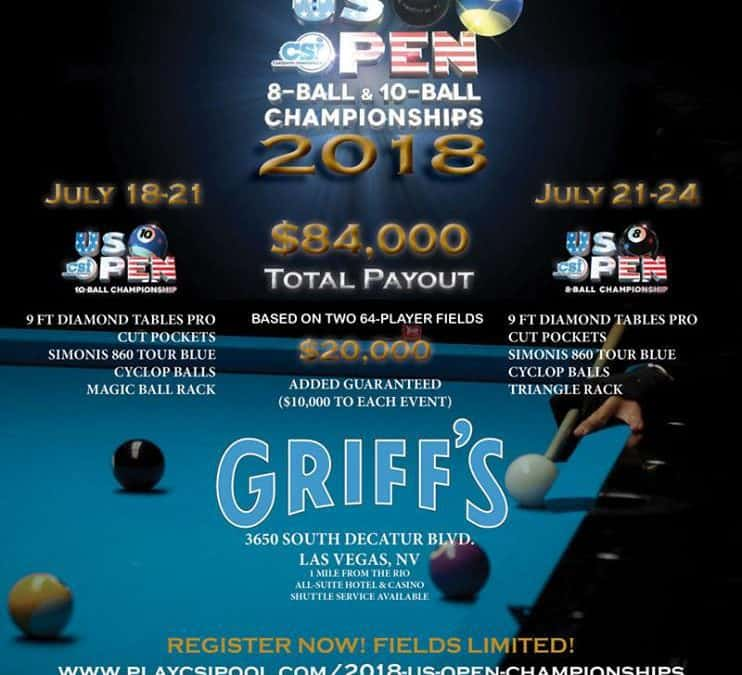 US Open 10-Ball Championship 2018